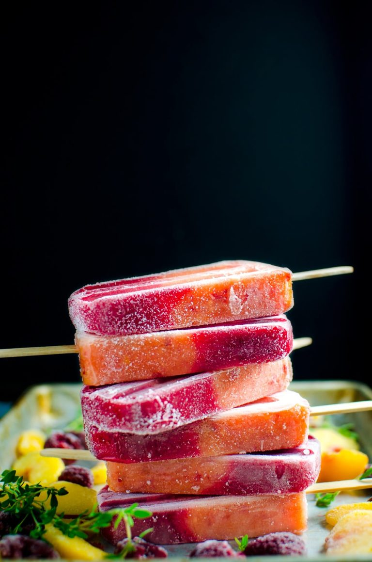 Peach-and-Raspberry-popsicles-7711